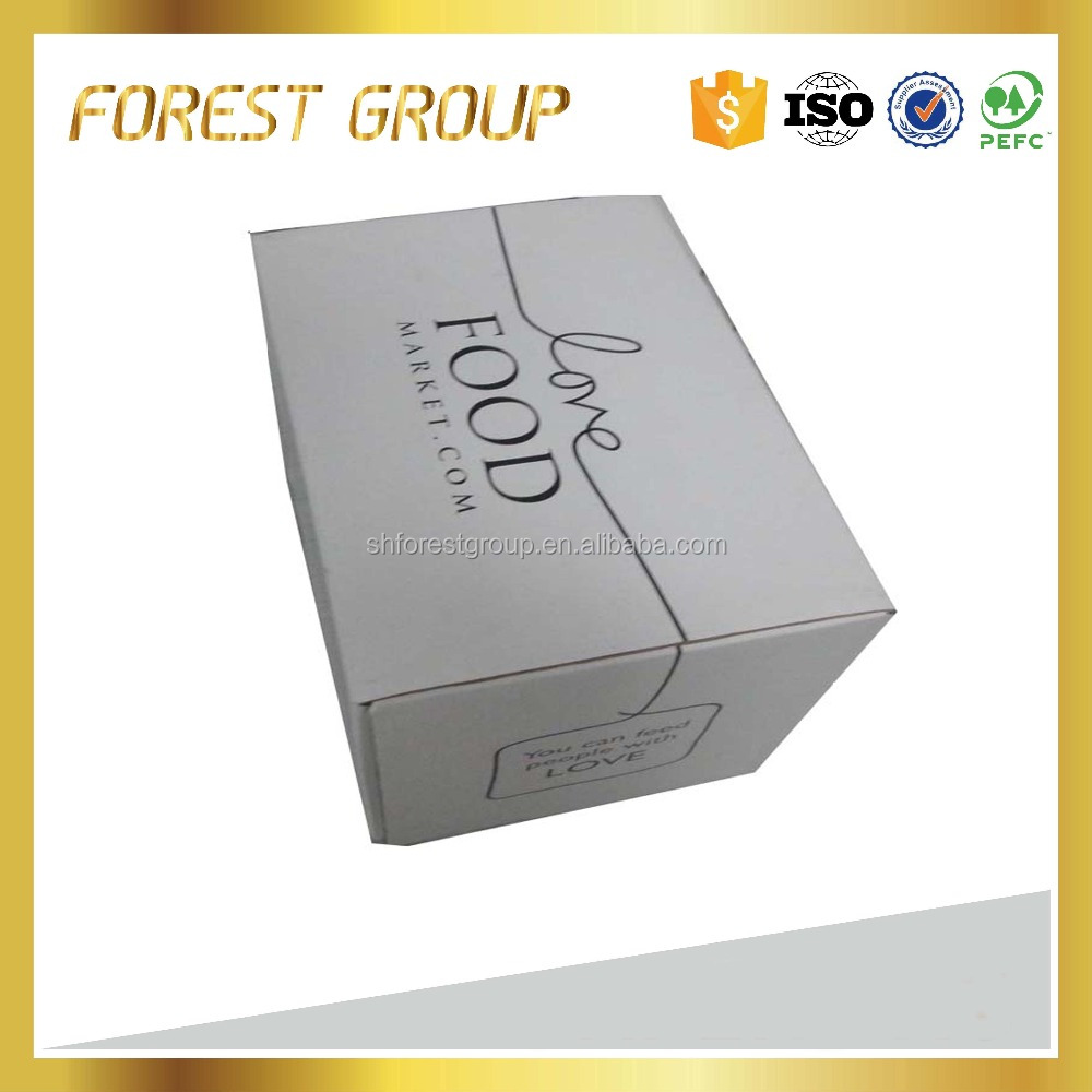 Hot saling paper cardboard foldable storage lunch packing <strong>box</strong> wholesale