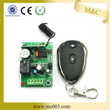 MC401PC 12V/24V door opening device wireless controller