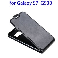 Durable Quality Flip Leather Case for Samsung Galaxy S7, PU Cover for Samsung S7