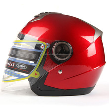 YEMA half face helmet double visor stylish open face motor helmet YM-623