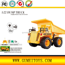 6807 1:22 5 Channel RC Excavate Simulation Truck Toys RC Car 4WD Monster Truck
