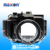 Meikon Aluminum camera housing for diving 100M/325ft underwater waterproof Aluminum camera case for Sony RX100 IV / RX100 M4