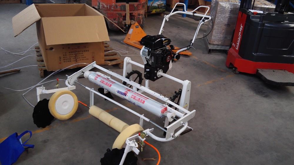 plastic mulching machine