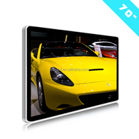 "70"" Inch oled touch screen display Wifi/3G/Android/Internet Lcd Advertising Display Wall Mounted Ad Media Player"
