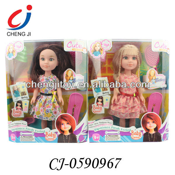Fashion design new arriving 18inch beauty vogue girl doll