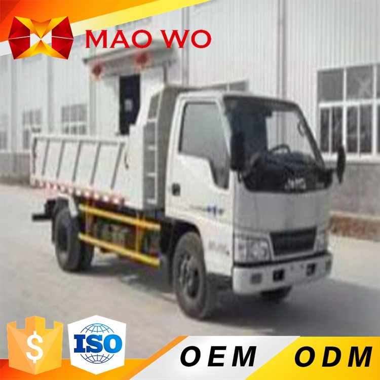 China FOTON 5 ton regular all wheel drive diesel 4x2 mini dump truck for sale