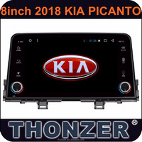 8 inch Car Audio/ Media Player with GPS for 2018 Picanto car in Android 6.0 System without DVD slot