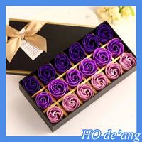 Hogift Christmas Valentine's Day soap flower/mother's day flower best gift for mom