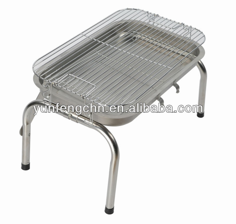 Table charcoal bbq pit