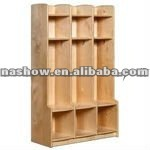 School Furniture, Kids Public Furniture, Wooden Locker