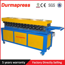 Economic price best quality T-12 TDC flange forming machine for Ventilation duct structure