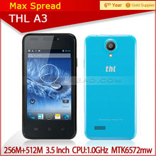 3.5'' Mobile Phone THL A3 Smartphone MTK6572 Dual-core 1.0GHz IPS Screen cell phone