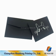 small size blank cards and wedding invitation envelopes / custom printed padded envelopes
