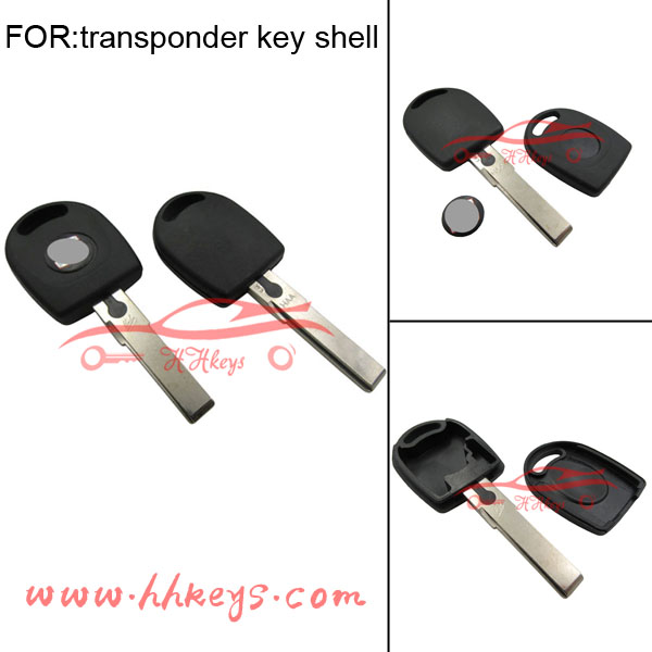 transponder chip key cover can put ID48 chip Seat chip key
