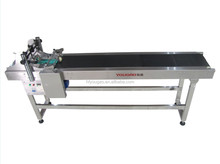 YOUGAO 9011A-F2 portable conveyor belt with paging machine for plastic bag