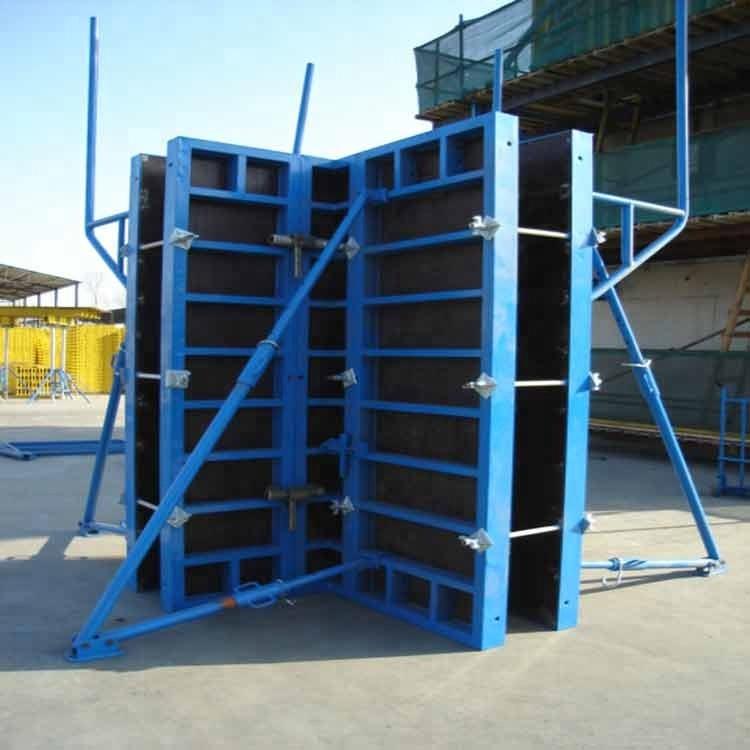 Gk120 Lightweight Concrete Column Wall Panel Formwork Systems - Buy Column  Formwork Systems,Panel Formwork,Lightweight Concrete Formwork Product on