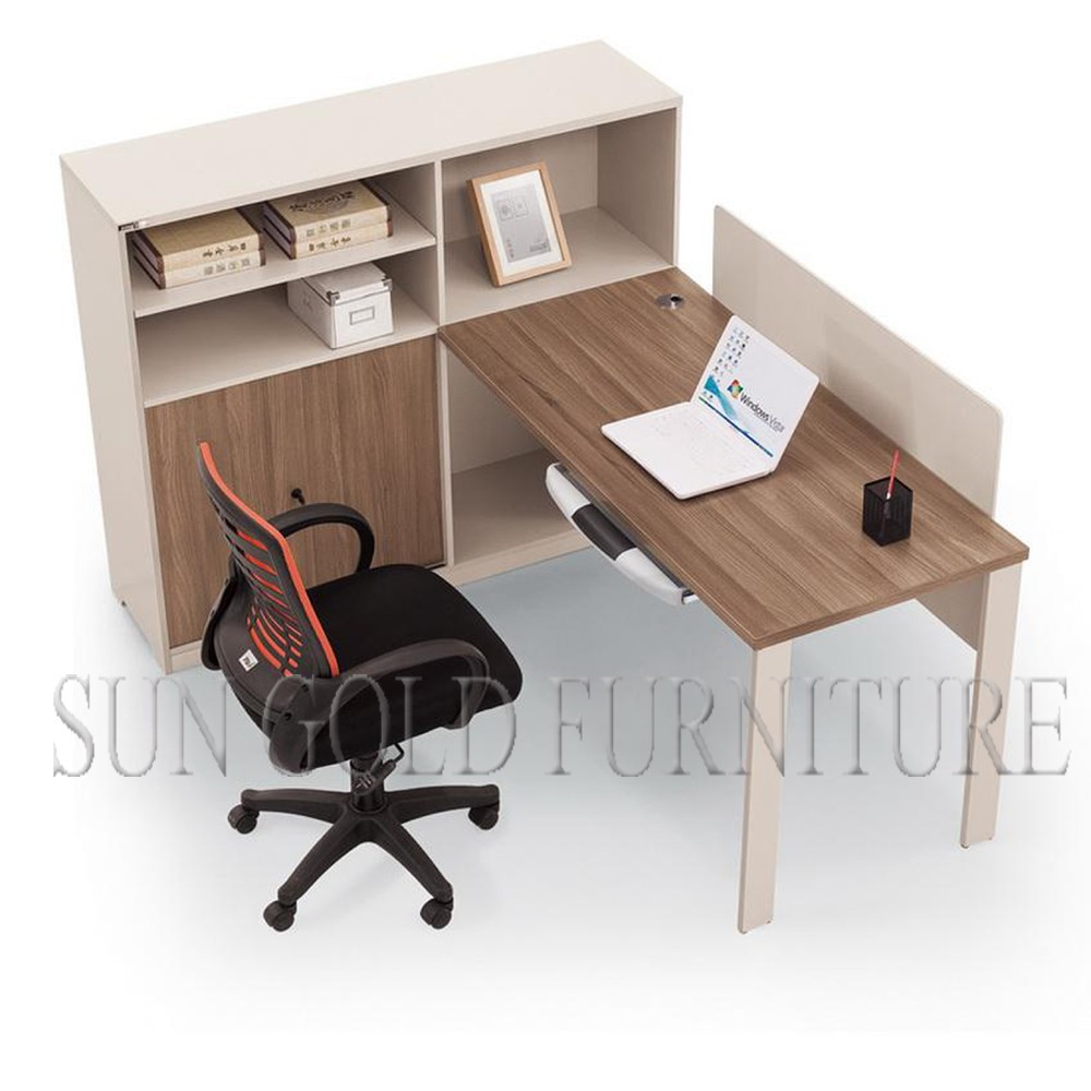 22 creative wooden furniture office table for Simple office design