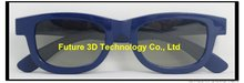 Fashionalbe design polarized 3D glasses for cinema and TV--CP297G01R