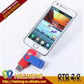 Wholesale Coloful 32GB Swivel Mobile Phone OTG USB Pen Driver