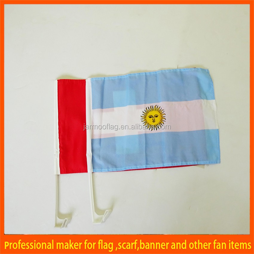 custom international business car window flag