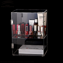Weitu locking acrylic display case wholesale cosmetic acrylic display case