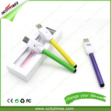 Ocitytimes Super Slim Original Manufacturing Bud Touch E Cigarette 280mAh 510 Battery No Button