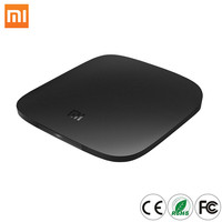 International Version MI BOX H.265 Android TV 6.0 Set Top Box VP9 HDR Support DTS DolbyVoice Amlogic Quad Core
