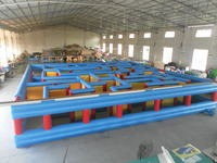 most popular inflatable labyrinth,inflatable maze game with high quality