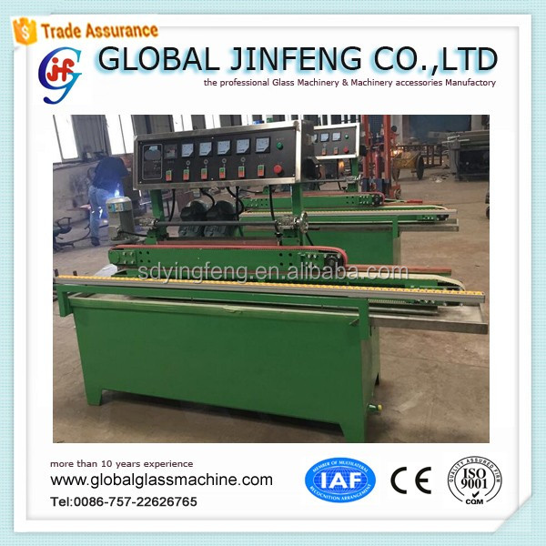 JFE 2018 hot sale Horizontal glass straight line edge polishing machine factory with CE