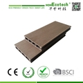 Hot sell anti-water outdoor wpc composite decking board for Garden