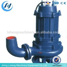 WQ stainless steel 10hp electric centrifugal submersible sewage pump
