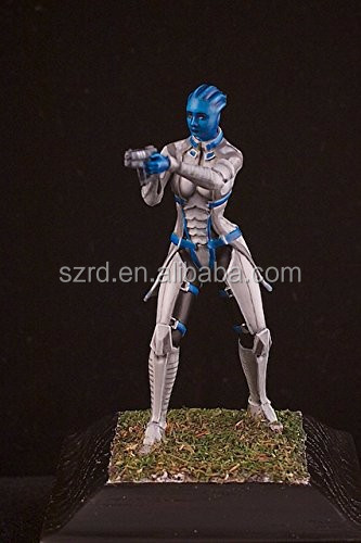 Painted 54mm Asari Liara T'Sony Mass Effect resin figure - RARE NorthStar Models