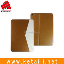 "For 9.7"" 12.9"" iPad pro soft PU leather wallet style tablet pc case cover supplier"