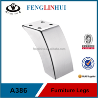 Unadjustable Iron furniture legs modern carved A386