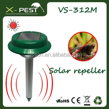 Bell and Howell Visson Waterproof VS-312M solar mole and gopher killer repeller