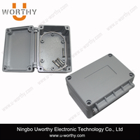 Professional Heavy Duty Hinge Door Die Casting ACD12 Aluminum Alloy Enclosure Outlet Box 100*68*50mm