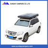 Hot SaleCheap Hard S2016 hottest hard shell car roof top tent optional with Car side awning Car Truck Roof Top Tent