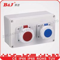 high quality plastic ABS electrical enclosure distribution box