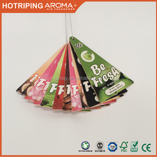 Custom Design Hanging Air Freshner/Custom Paper type Air Freshener for car / Paper Car Air Freshener card