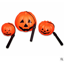PU Polyurethane Celebrate Eco-friendly halloween decorations pumpkin night lamp