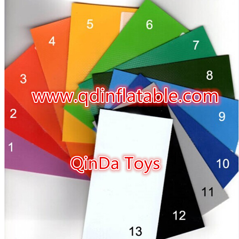 Qinda Toys color card