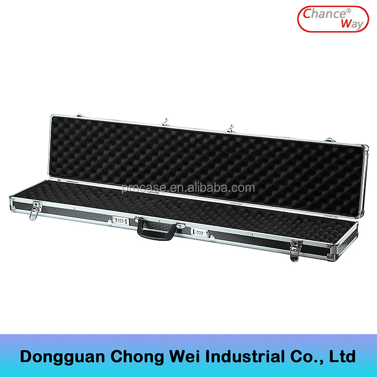 Professional Wholesale Lockable <strong>Hard</strong> Black Aluminum Gun <strong>Case</strong>