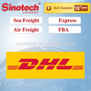 DHL cargo rates from China to Global logistics service