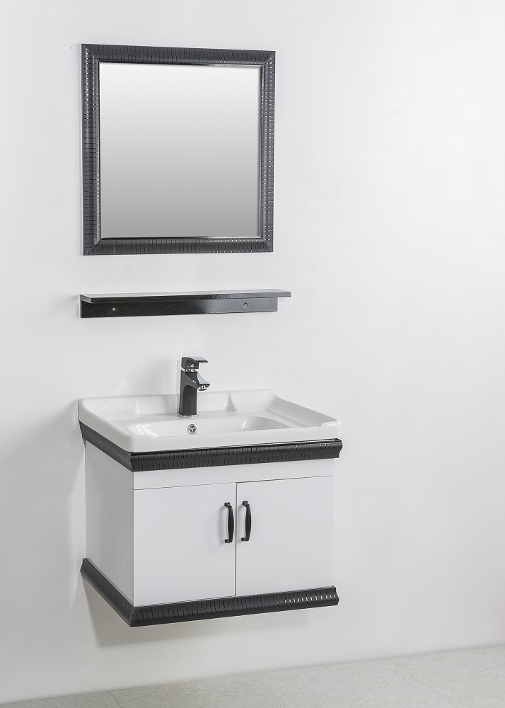 Factory Hot Sale New Classic Style Cheap Bathroom Vanity  Cabinet Set With Mirror Bathroom Basins and Cabinets
