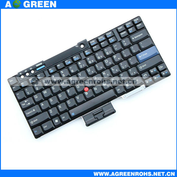 laptop keyboard For lenovo/Tinkpad R60 black us