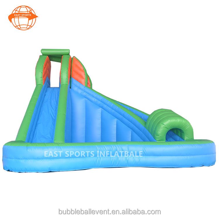 2017 Hot sale cheap indoor playground custom slides inflatable water park pool slide for school kids