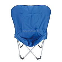 Outdoor Home Furniture Steel Tube Camping Padded Butterfly Folding Chair