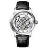 Latest design fashion stainless steel automatic mechanical watch