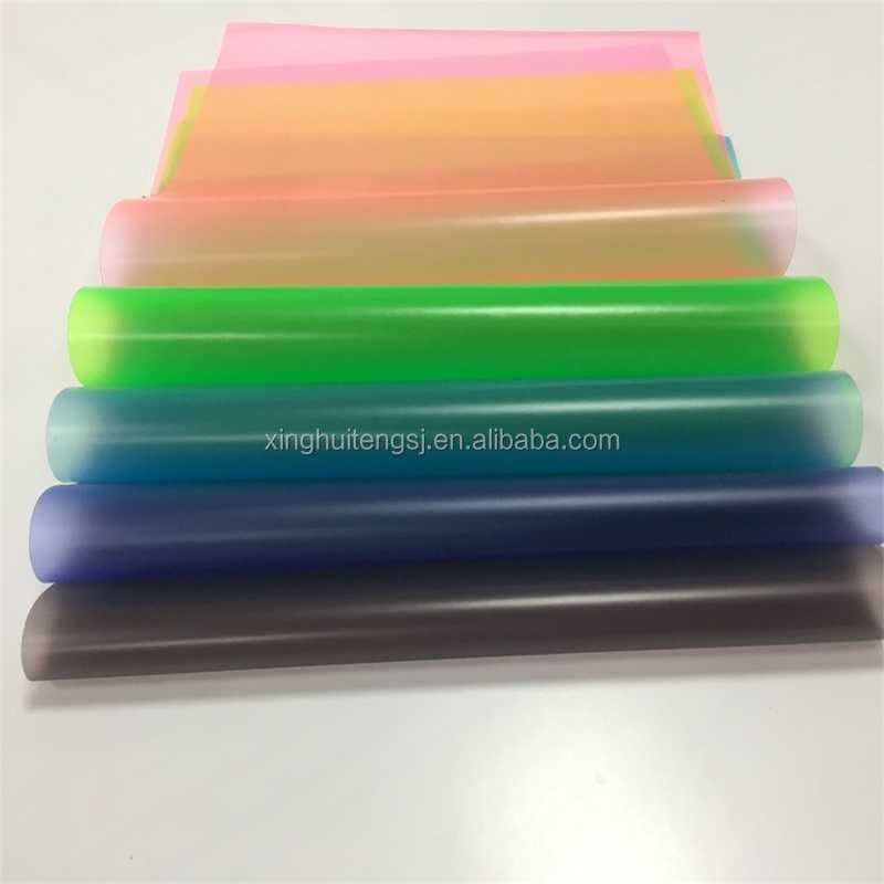 eco-friendly pvc plastic soft colorful film in <strong>roll</strong> use for inflatable toys