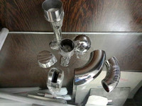 stainless steel pipe accessories for decoration